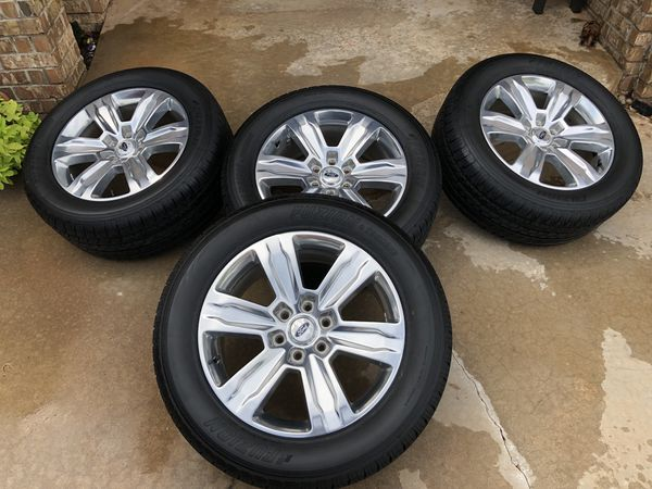20 F150 Platinum Wheels Yukon Ok