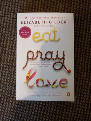 Eat Pray Love paperback for Sale in Madison Heights, VA