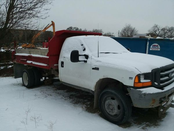 F450 Dump Truck For Sale >> 2000 Ford F450 Dump Truck V10 Gas For Sale In Chicago Il Offerup