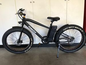 Photo Electric Bike - Nakto Fat Tire Cruiser