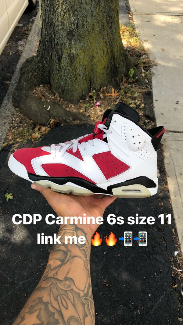 bf55caffdca9ed Jordan CDP Carmine 6s size 11 for Sale in Oceanside