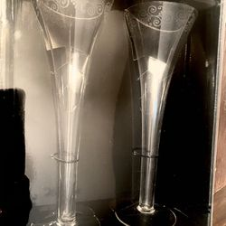 Toasting Glasses ( new in sealed box ) for Wedding or special occasion Thumbnail