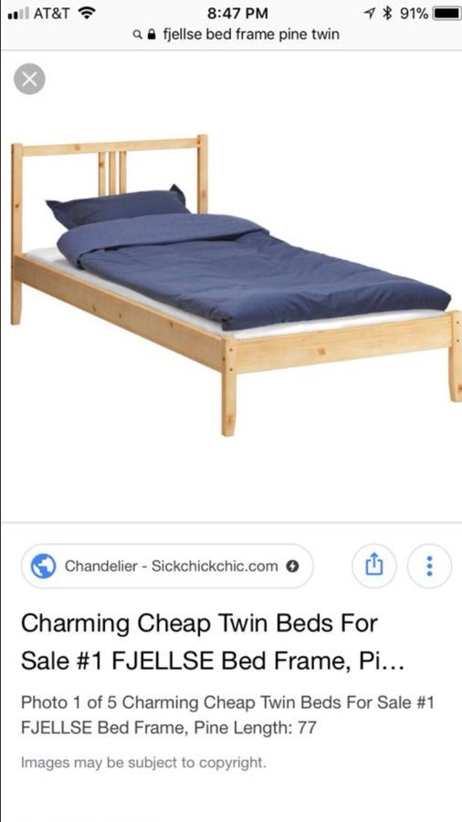 Single Bed IKEA - two units for Sale in Santa Clara, CA - OfferUp