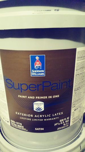 Sherwin Williams Superpaint Exterior Satin For In Burleson Tx Offerup