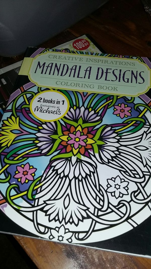 Adult Mandala Design Coloring Book Art Paint Kit For Sale In