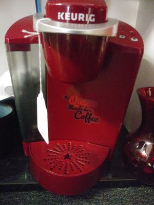 Red Keurig Coffee maker $50 for Sale in Florissant, MO
