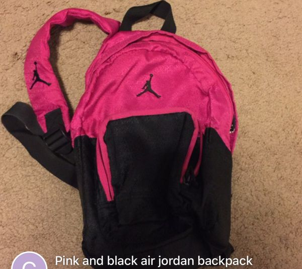 86c1be36f020 Pink and black air Jordan backpack for Sale in Odem