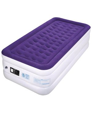c898666121f brand new Air Mattress Blow Up Raised Airbed with Internal High Capacity  Pump