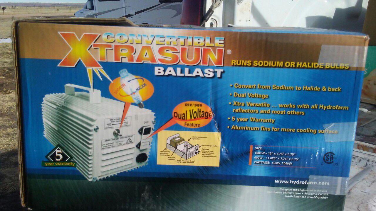 1000 watt ballast