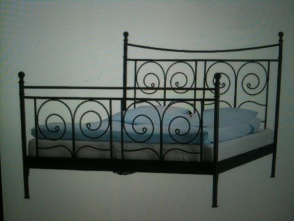 Rare Ikea Noresund King Size Bed Frame For Sale In Queens NY