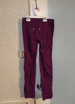 Girls size 8 Route 66 purple pants 👖 Thumbnail