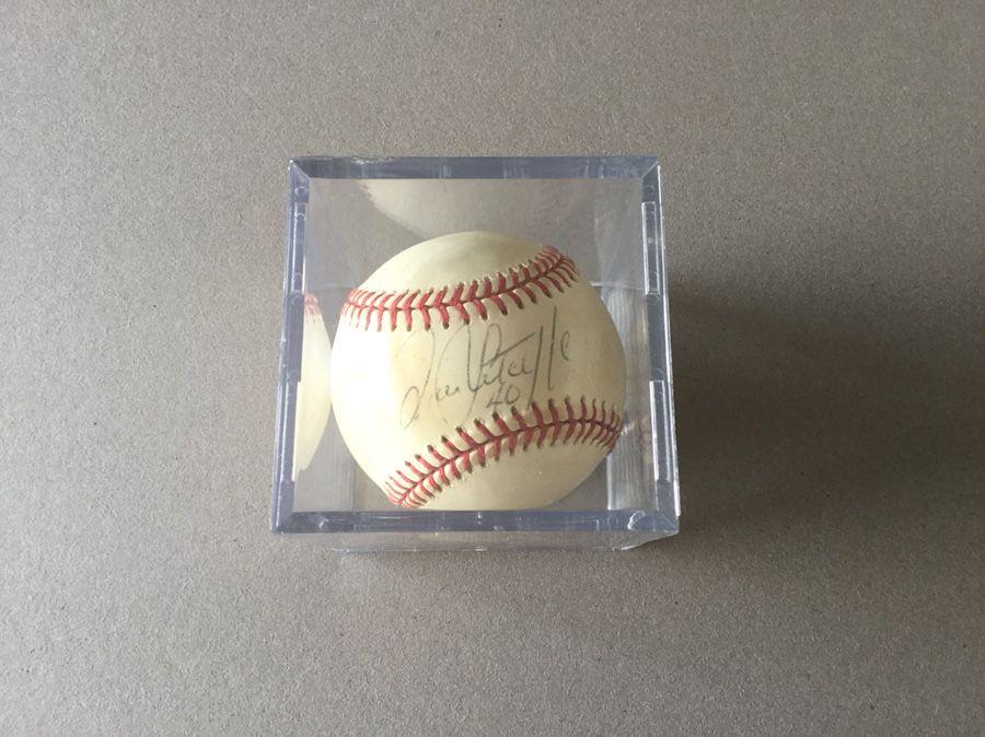 Rick Sutcliffe Signed Baseball