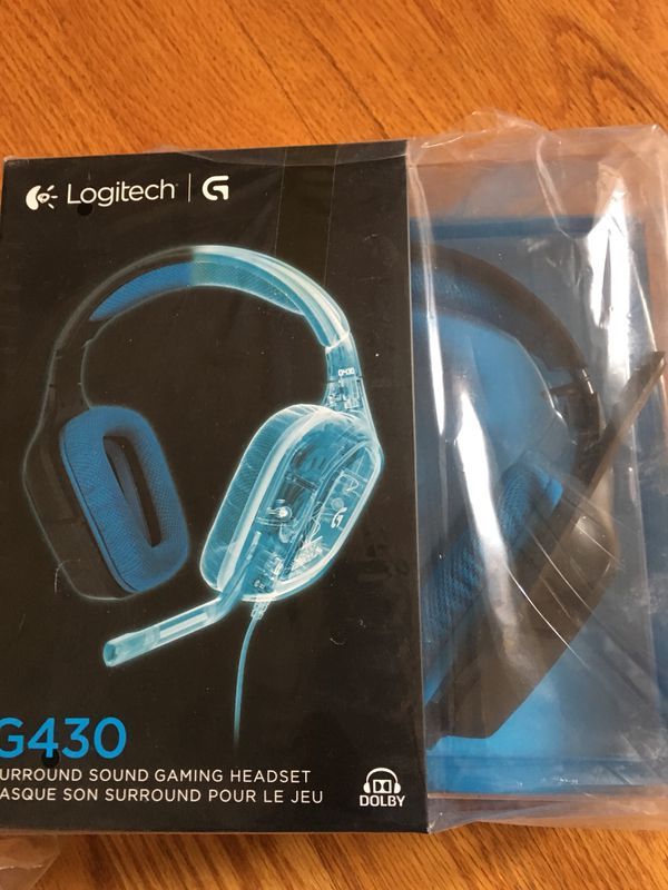 7c0c0dbe613 Logitech g430 gaming headset 4 for sale factory sealed new. 50 dollars each