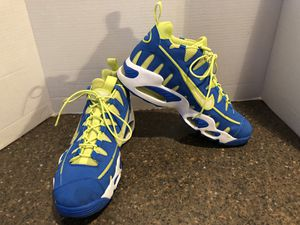 Nike Men's Blue and Yellow 429749-401 Shoes Size 10.5 for Sale in Manassas, VA