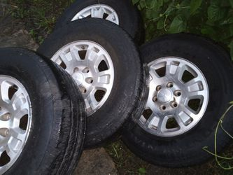 Used but look new tires for Chevy Silverado or GMC Thumbnail