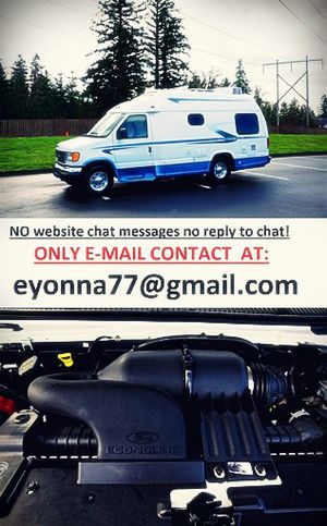 02 Ford E350 VAN motorhome full price listed RV! for Sale in Washington, DC