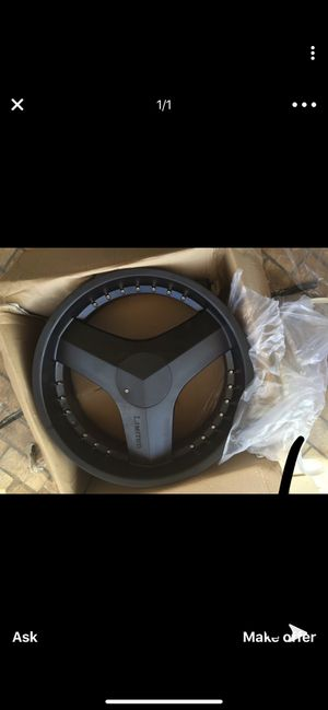 Photo **24 inch matte black limited rims**