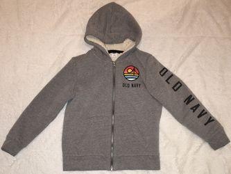 Old Navy grey sweater, boys, medium, (8) Thumbnail