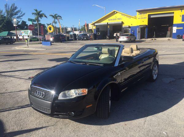2008 Audi A4 Convertible Quattro Clean Title For Sale In Miami Fl