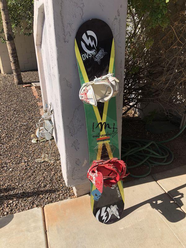 Mathmatics snowboard for Sale in Phoenix, AZ - OfferUp