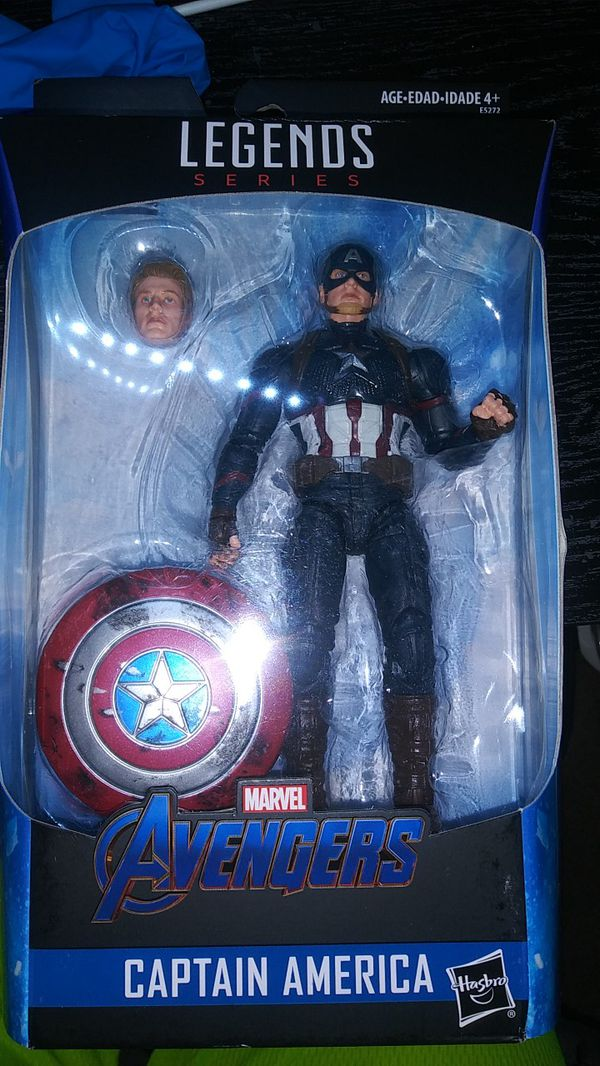 Marvel Legends Captain America Worthy Cap End Game For Sale In Irwindale Ca Offerup