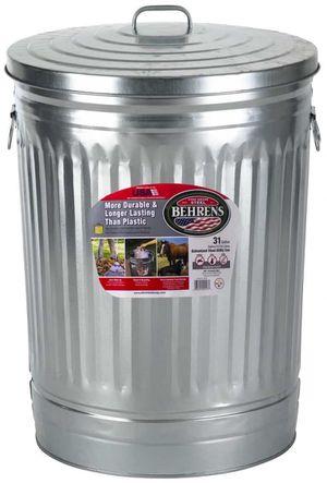 3da85e1ff3b BRAND NEW 31 gallon galvanized steel can with lid storage for Sale in Pine  Bush