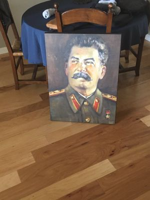 Stalin painting for Sale in Cleveland, OH