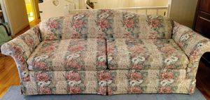 Floral print lazy boy sofa good condition for Sale in Crewe, VA