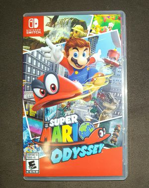 Super Mario Odyssey - Nintendo Switch for Sale in Milford, MA