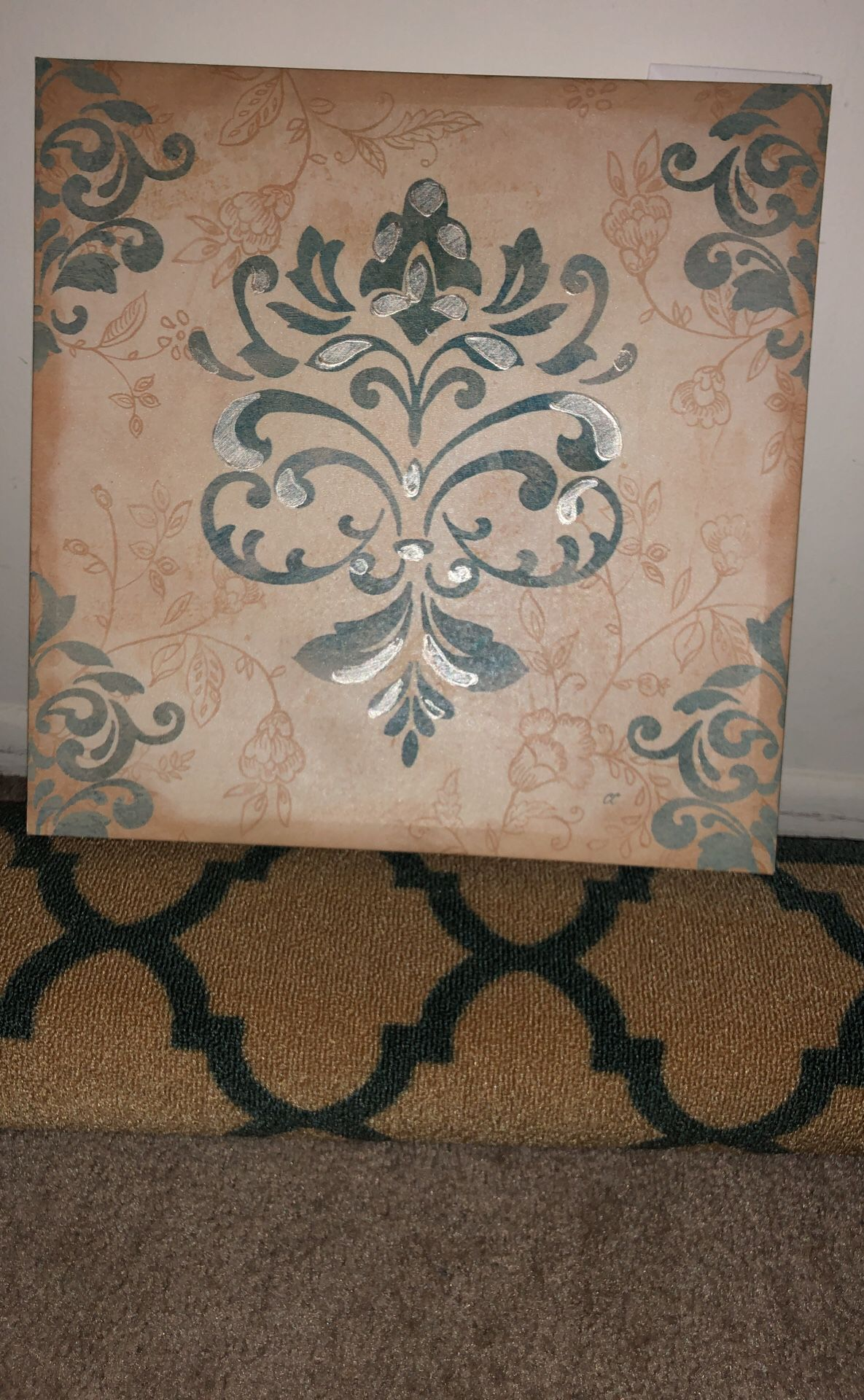 Rug 8X10 and frames