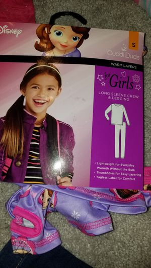 Sophia the first pajamas and layering thermal for Sale in Manassas, VA