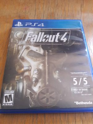 PS4 New Vegas Fallout 4 for Sale in St. Louis, MO