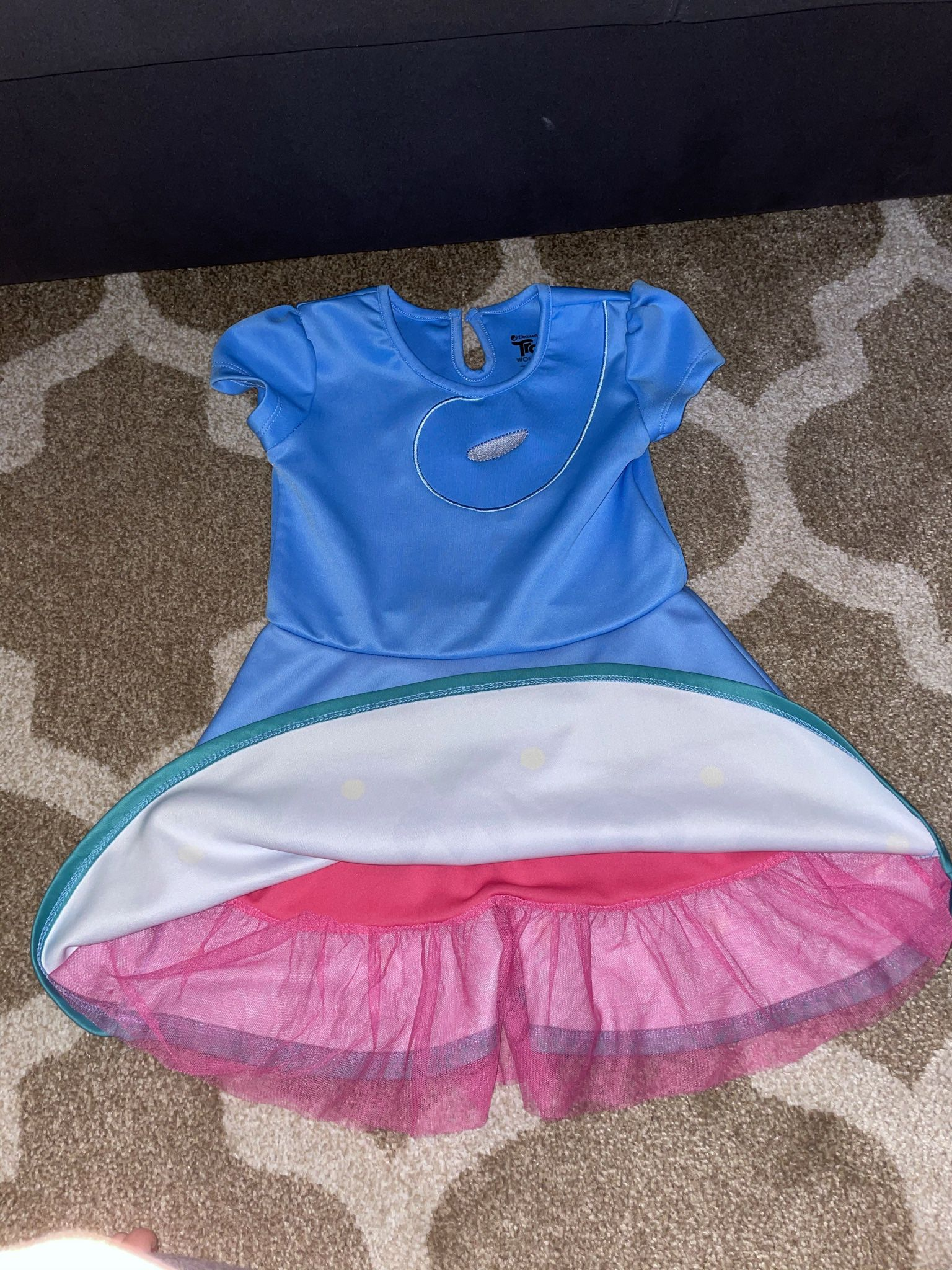 Trolls Poppy Dress 5/6