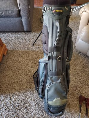 Photo Used golf clubs with bag