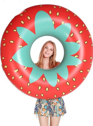 Giant Strawberry Pool Party Float 45 Inch for Sale in Brooklyn, NY