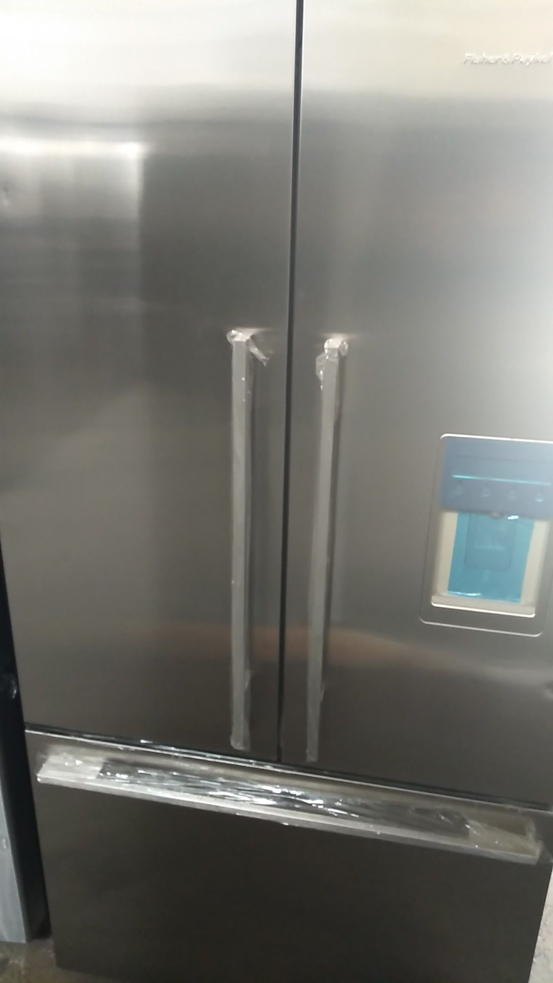Fisher and Paykel French door