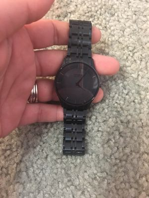Men's Citizen All Black EcoDrive Watch (Less than 2 years old for Sale in Alexandria, VA