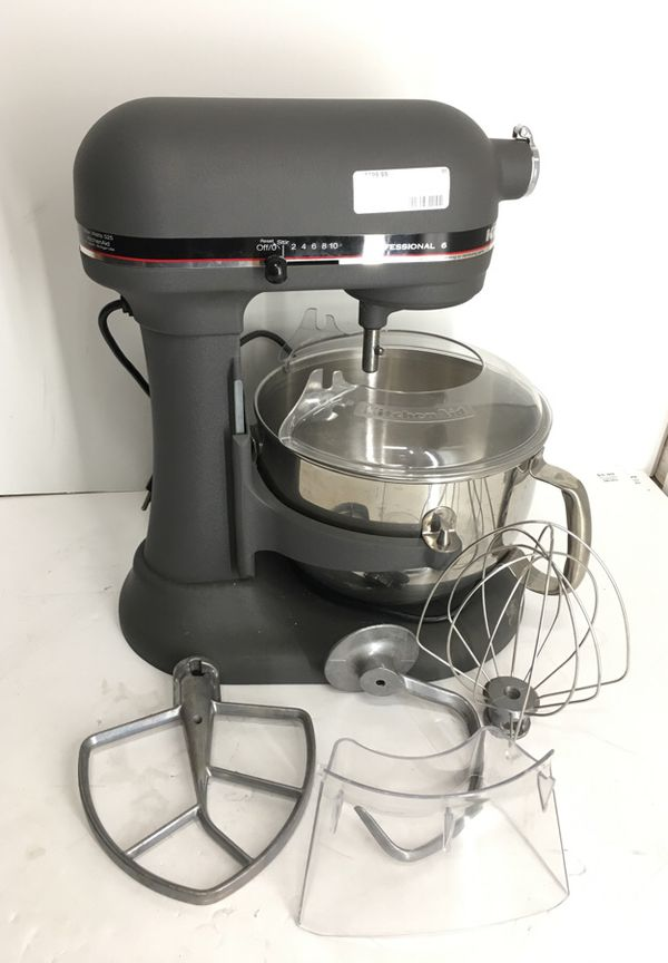 KitchenAid KP2671XGR Professional 6 Mixer 41368 for Sale in ...