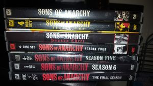 Sons of Anarchy seasons for Sale in Chapel Hill, NC