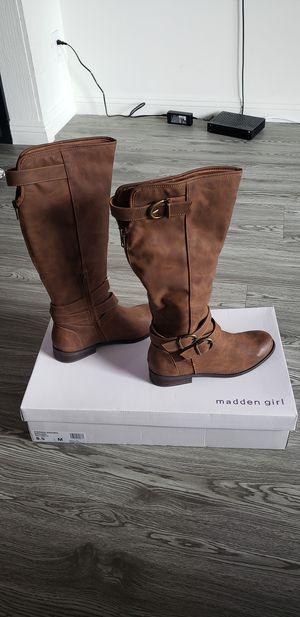 Photo Madden Girl Boots side 8.5 women