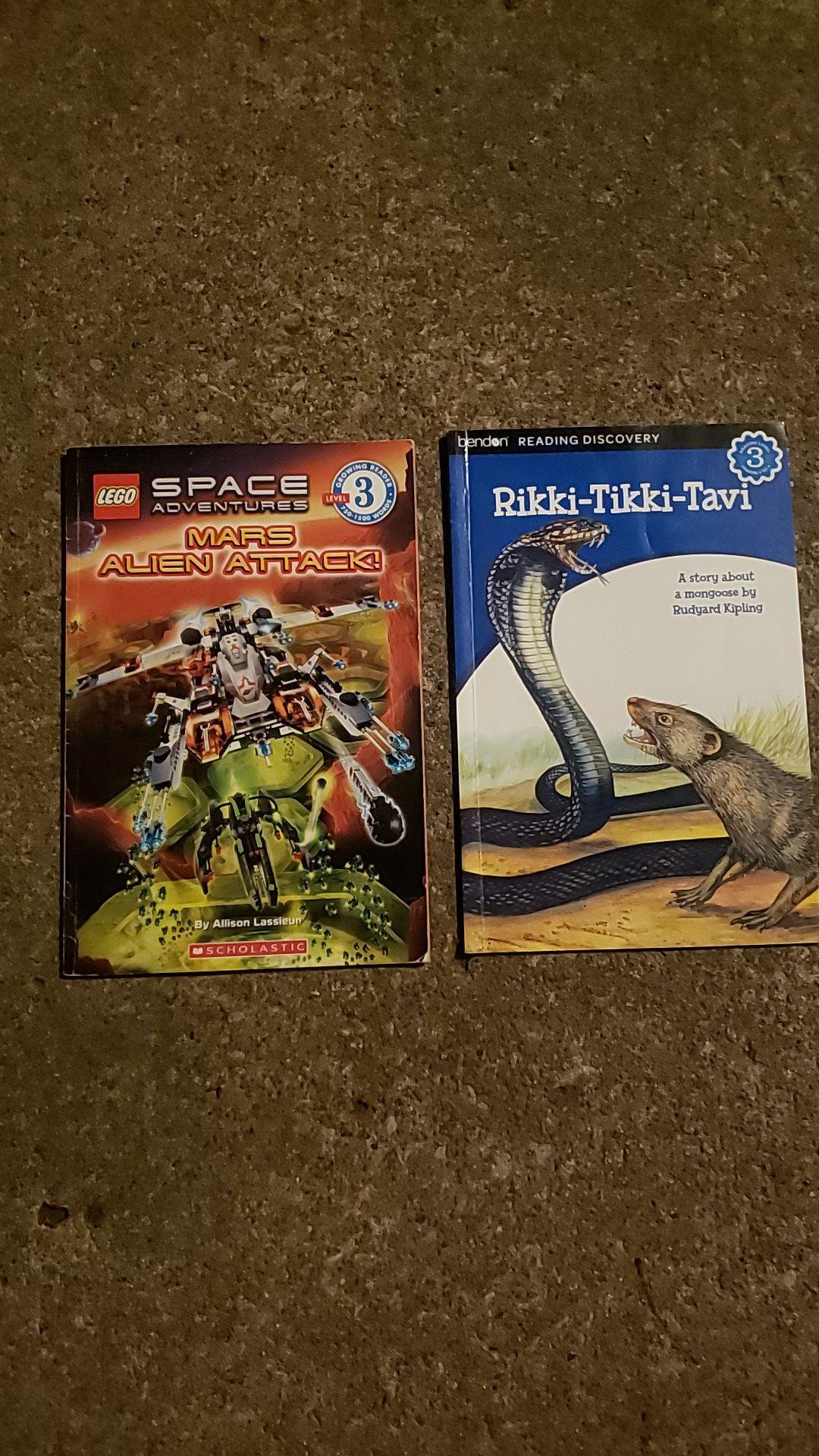 2 Separate Books - Reading Level 3