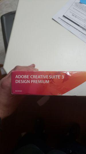 Adobe creative suit 3 design premium for Sale in Seattle, WA