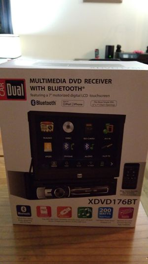 Dual Flip Touch Screen Radio for Sale in Norwalk, CT