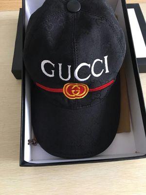 Photo Gucci Ball Cap Baseball Hat Canvas Adjustable Hat