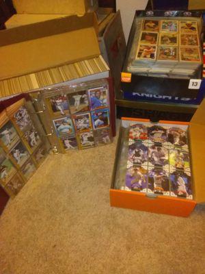 1982-2003 ~40k baseball/football/basketball trading cards for Sale in Auburn, WA