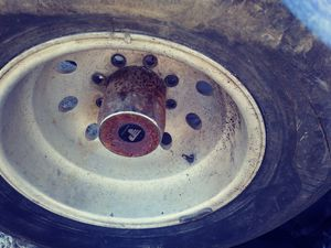 I got a set of chevy 16 acola rims and tires but tires not good for Sale in San Antonio, TX