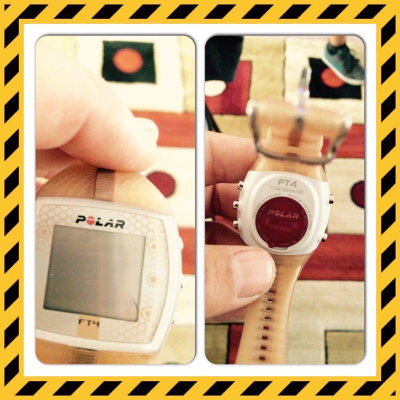 Polar FT4 fitness heart rate monitor