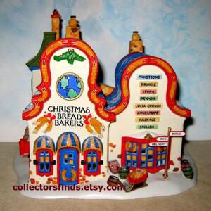Department 56 North Pole, Christmas Bread Bakers, like new