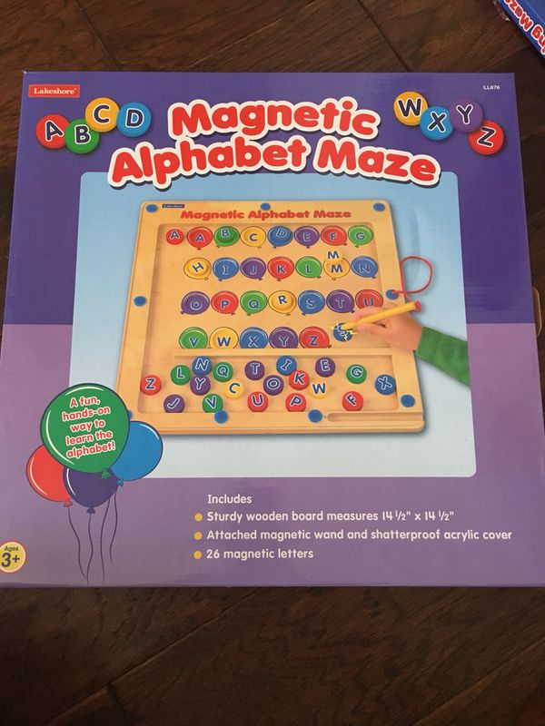 Magnetic Alphabet Maze Counting Maze For Sale In Chandler Az