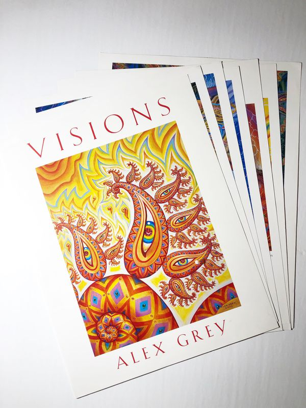 Visions Alex Grey Art Prints Numbered And Signed -Year 2003 for Sale in  Buckeye, AZ - OfferUp